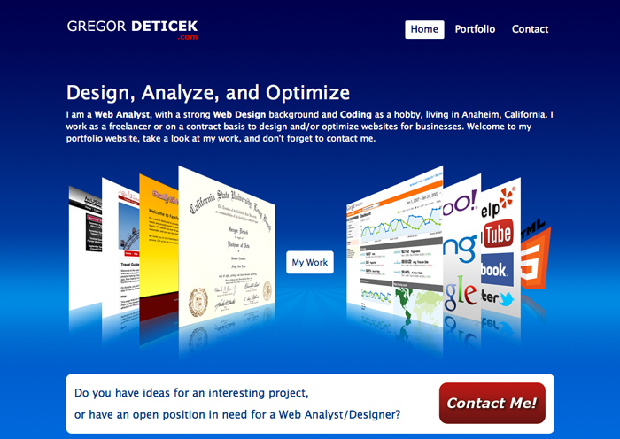 Screenshot of the Deticek.com Website